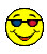 3-D Smiley with Expensive Glasses